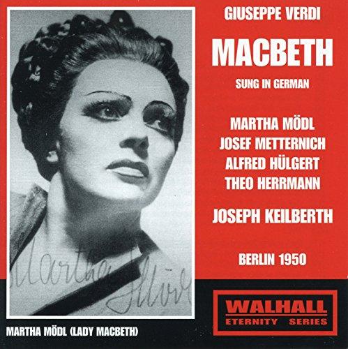 Macbeth, Act I: Komm', Hölle, und sauge (Live)