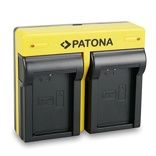 PATONA Dual Cargador para LP-E12 Bateria para Canon EOS M / M10 / EOS 100D / Rebel SL1