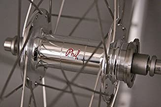 Phil Wood High Flange Hubs Mavic Open Pro Rims Track Bike Wheels Wheelset DT