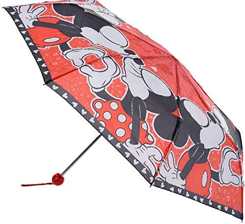 Disney Minnie Maus Regenschirm faltbar mit Schutztasche