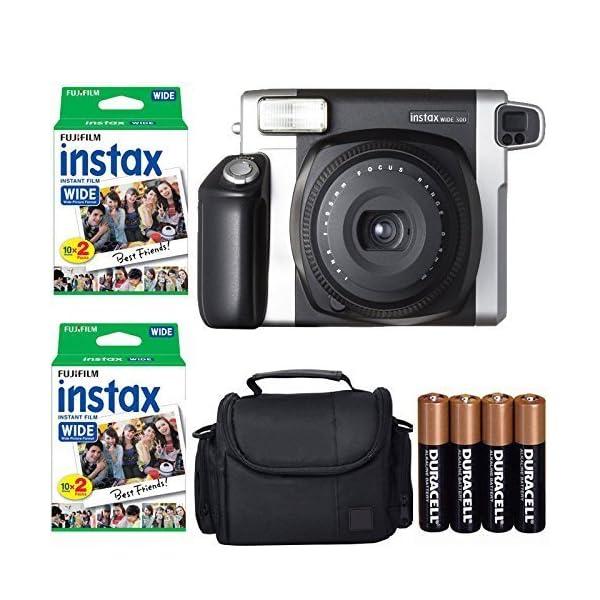 Fujifilm INSTAX 210 Photo Instant Camera With Fujifilm Instax Wide Instant Film Twin...