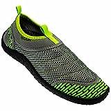 Rockin Footwear Men's Rockin Aqua Power Water Shoe, Green, US Size: 10 Regular US