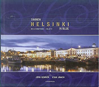 Hardcover Sininen Helsinki - Helsingfors i Blått - Helsinki in Blue Book
