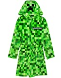 Minecraft Pixelated Creeper Boys Dressing Gown/Robe 7-8 Jahre
