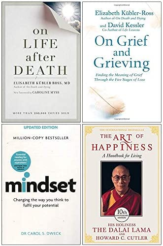 On Life After Death On Grief And Grieving Mindset Carol Dweck The Art of Happiness 10th Anniversary product image