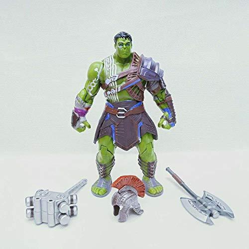 Action Figure Marvel Thor: Ragnarök Hulk Hulk Animated Character Model Giocattoli per Bambini - Regali di Compleanno per Bambini A