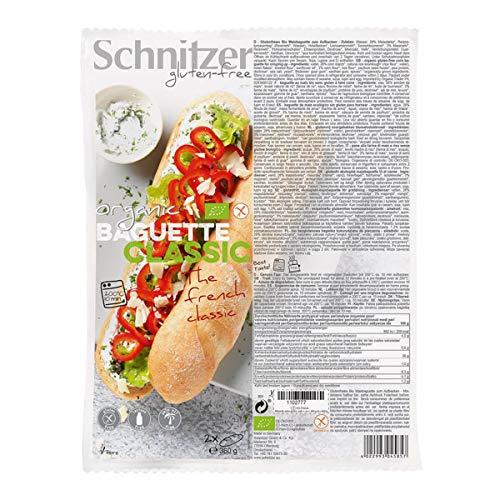 Schnitzer - BIO BAGUETTE CLASSIC - 360 g - 6er Pack