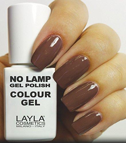 Layla Cosmetics Milano no Lamp Gel Polish Smalto per unghie Tonka