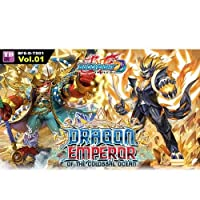 BuddyFight Dragon Emperor Of The Colossal Ocean Starter Trial Deck - 52 cards