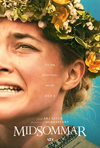HandTao Midsommar 2019 Mystery Movie Fabric Cloth Wall Poster Photo Print 36x24 Inch
