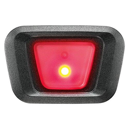 Uvex Plug-in LED xb048Finale Visor–Casco de Bicicleta para iluminación, Red de Black, Uni