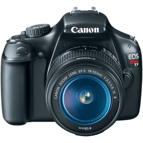 Canon EOS Rebel T3 Digital SLR Camera with EF-S 18-55mm f/3.5-5.6 IS Lens (discontinued by manufacturer)