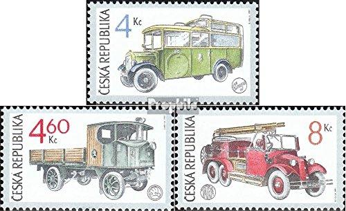 république tchèque mer.-no.: 158-160 (complète.Edition.) 1997 Voitures (Timbres pour Les collectionneurs) Pompiers / Police