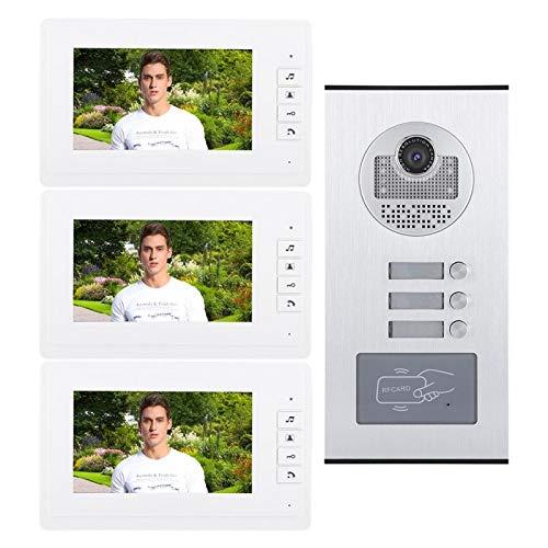 DAUERHAFT Cambie el Tono de Llamada Una cámara 7 Pulgadas HD IR Video IR Cámara(100-240V British Standard)