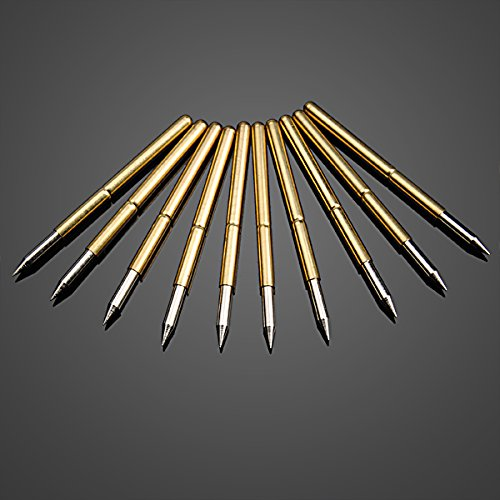 Masun 10 x Ultra spitze, goldene flexible Multimeter, Sonde, PCB-Testnadeln