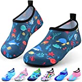 DigiHero Kids Water Shoes-Quick Dry Non-Slip Water Skin Barefoot Swim Water Shoes Children