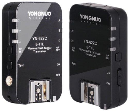 Yongnuo Flash 622C TTL-Disparador Inalámbrico para Transmisores 2