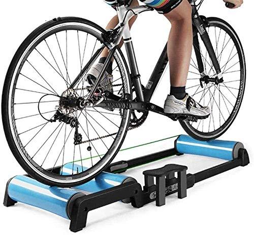 HYL Rodillo Bicicleta,Fluid Bike Trainer Stand Rodillos de entrenador de bicicletas, ejercicio...