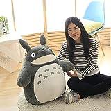 YYY-DOLLS Mein Nachbar Totoro Ghibli Stofftier Plüschtier Kuscheltier Plüsch Figur: Grinsender O Totoro Grau,70CM