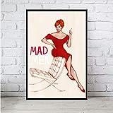 Zahuishile Art Decor Mad Men TV-Serie Show Wandkunst