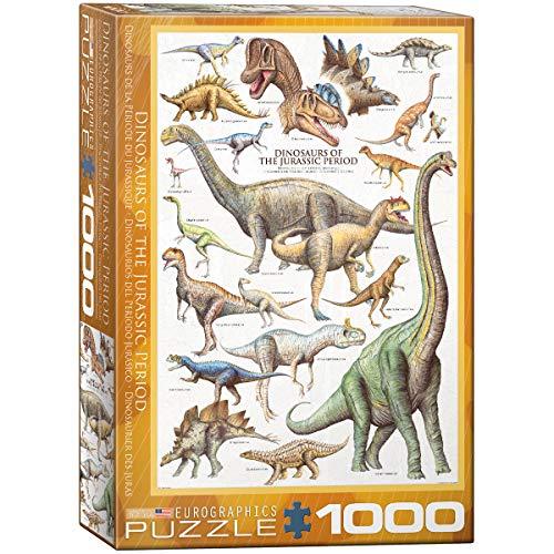 EuroGraphics - Rompecabezas Dinosaurios, 1000 Piezas (EG60000099)