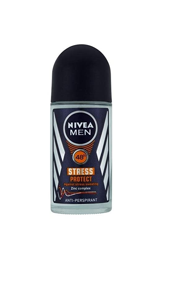 Nivea for Men Antiperspirants Stress Protect Rollon - 1.69 Ounces (Pack of 3)