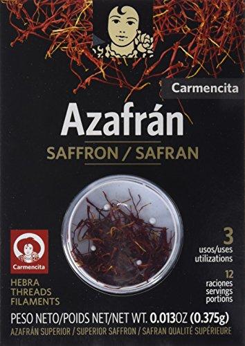 Carmencita Azafrán Hebra y Azafrán Molido - 1 Paquete