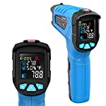 Infrared Thermometer, Non-Contact Digital Laser Infrared Thermometer Not for Human Temperature Gun -58?~1022? (-50??550?) with Color LCD Screen Digital Laser Temperature Gun for Kitchen and Industry