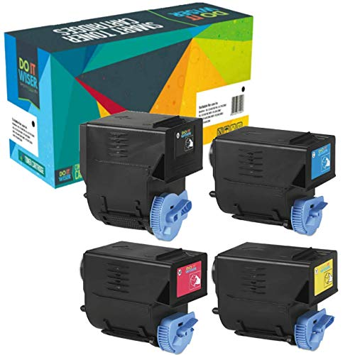 Do It Wiser Toner Cartridges Set For Canon ImageRunner C2880, C3380 - Black Yield 26,000 pages - Color Yield 14,000 pages