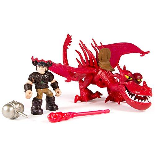 Dragons DreamWorks Riders Rotzbakke und Hookfang [UK Import]
