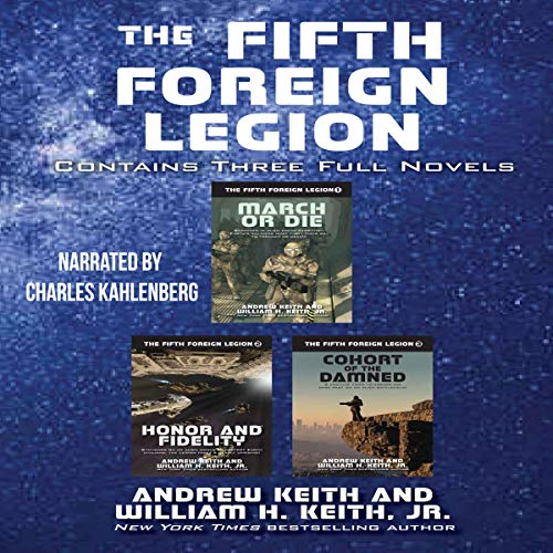 The Fifth Foreign Legion Omnibus audiobook cover art