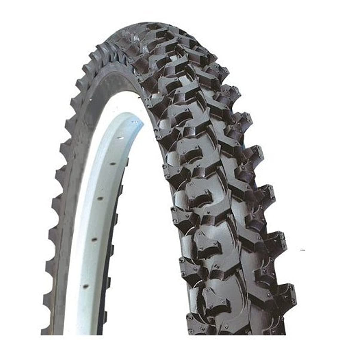 Kenda K850 Aggressive MTB Wire Bead Bicycle Tire, Blackskin, 26-Inch x 2.10-Inch