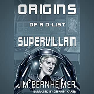 Origins of a D-List Supervillain audiobook cover art