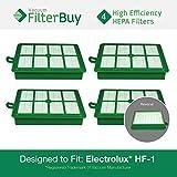 4 - Eureka Electrolux Sanitaire Washable HF1 (HF-1) HF12 (HF-12) HEPA Filters, Part
