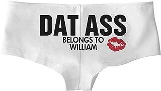 Dat Ass Belongs to William: Low-Rise Cheeky Underwear