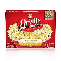Orville Redenbacher's Light Butter Popcorn, Classic Bag, 6-Count