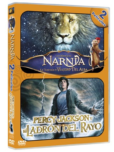 Las Cronicas De Narnia 3/ Percy Jackson - Duo [DVD]
