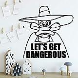 Pegatinas de Pared Creativas decoración del hogar para niños decoración de la habitación Dormitorio calcomanía Sala de Estar Papel Tapiz 42x43 cm