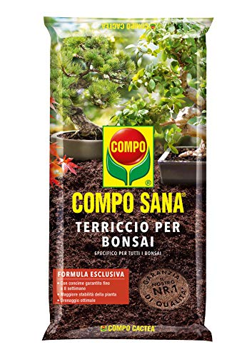COMPO SANA Terriccio per Bonsai, Per una crescita...