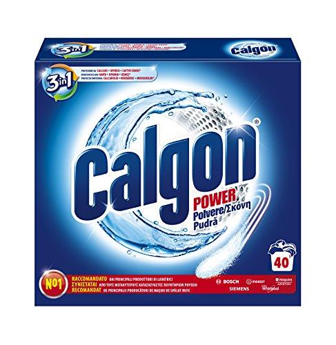 Calgon Polvere Anticalcare Lavatrice, Formula 3in1, Confezione da 2000 gr