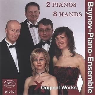 Smetana Grainger Works for 2 Pianos 8 Hands by Baynov Piano Ensemble (2013-05-04)
