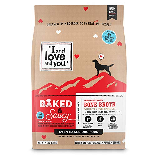 I and love and you Baked & Saucy Baked Dog Kibble