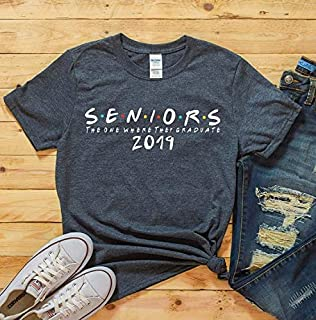 The One Where They Graduate, Seniors 2019, Class of 2019, T-Shirt Senior, Shirt Graduate, Graduation Gift, senior 2019, friends senior