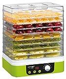 Concept Electrodomésticos SO-1060 Deshidratador de Alimentos, Temporizador, con 9 bandejas...