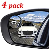 "Best Spot Mirrors - Kribin 4 Pack Blind Spot Mirror, 2"" Round Review"