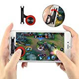 Newseego Mobile Game Controller, Joystick-Gaming-Controller 360 Touch Screen Game Thumb Stick für...
