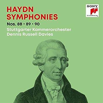 Haydn: Symphonies / Sinfonien Nos. 88, 89, 90