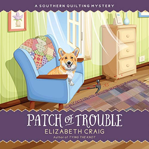 Patch of Trouble  audiobook cover art