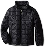 Marmot Kids Boy's Boy's Ajax Jacket (Little Kids/Big Kids) Black Outerwear SM (6/7 Little Kids)