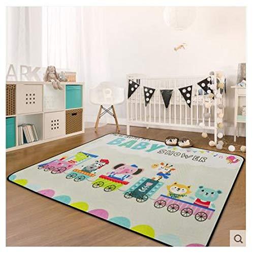 JiADT tapijt voor kinderen, tapijten voor woonkamer, kinderkamer, slaapkamer, tapijten en vloerbedekking